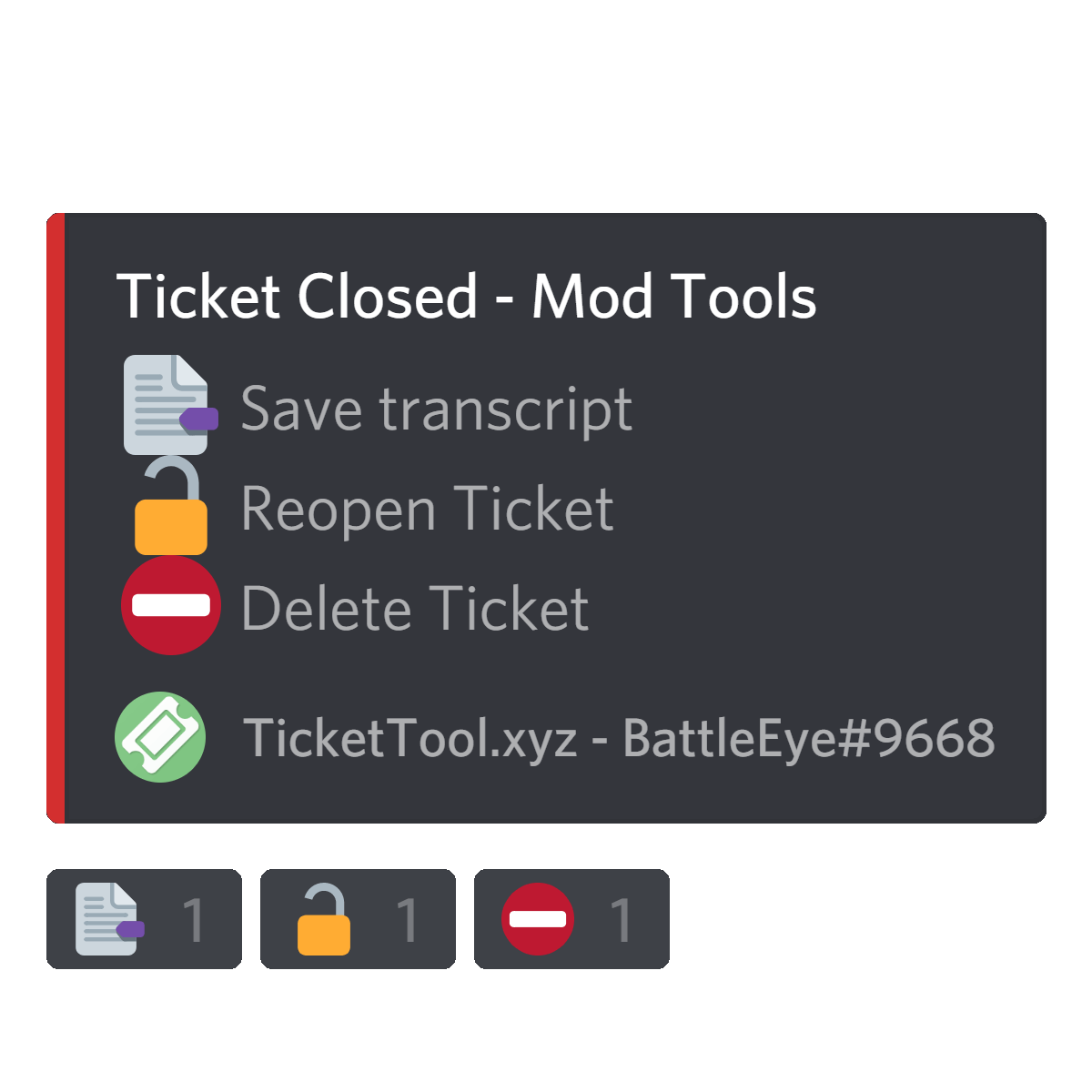 Ticket Tool | Discord Bots